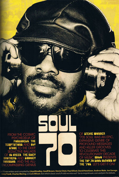 MOJO Magazine - The 70 Best Soul Albums of the 70's