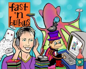 Barby, Me, Professor Beefheart, Mr. Bulbous
