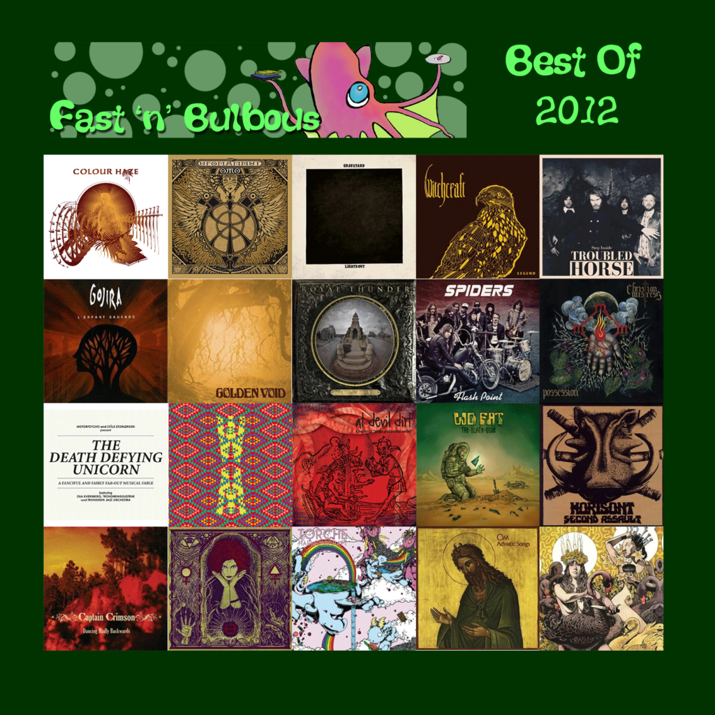 Fast 'n' Bulbous: Best of 2012