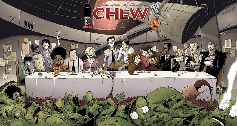 Chew, by John Layman &amp; Rob Guillory