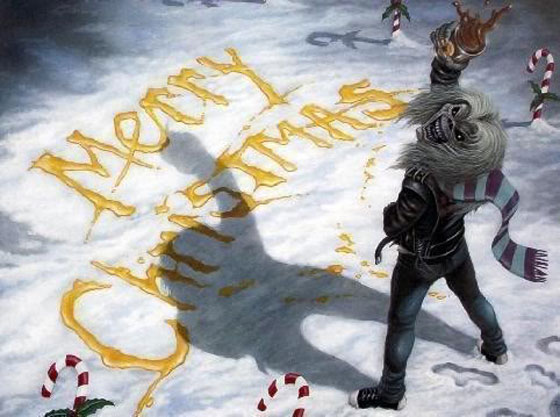 Merry Christmas from Eddie (Iron Maiden)