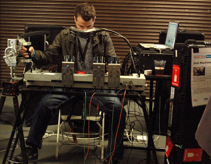 Author & Punisher - Engineering his own instruments