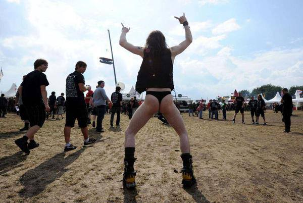 This will be me at Psycho California, sporting my Motorhead thong.