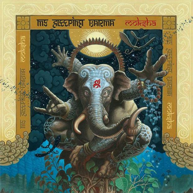 My Sleeping Karma - Moksha (Napalm, 2015)